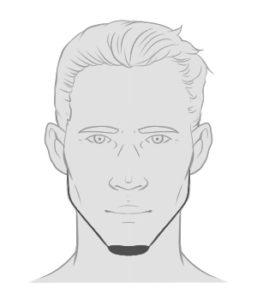 Der Chin Strap - der Bart für Romantiker