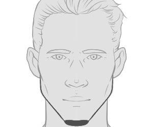 Der Chin Strap – der Bart für Romantiker