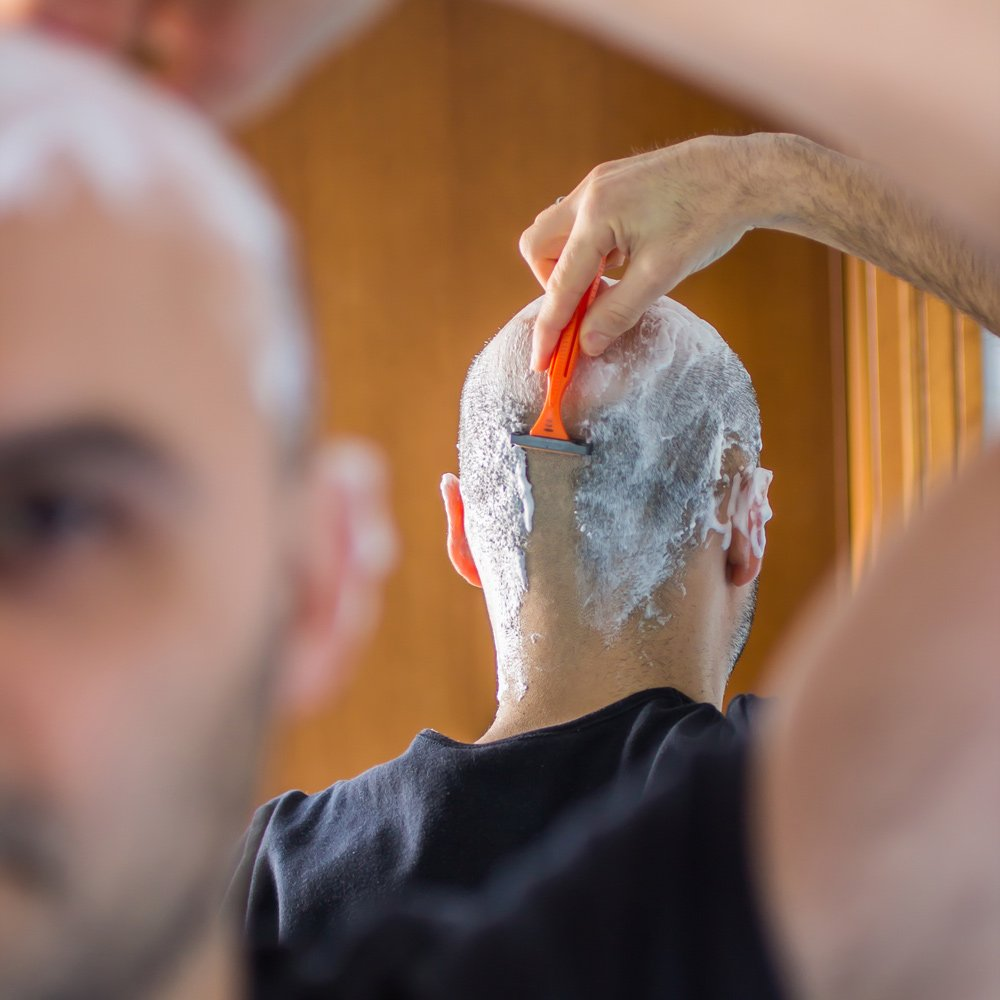 Glatze rasieren - wie Sie den Trend umsetzen » Bärte