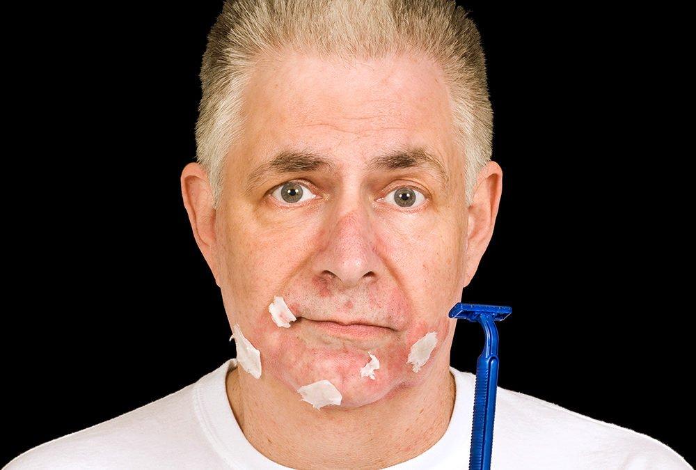 Schnittverletzungen beim Rasieren – vorbeugen und behandeln