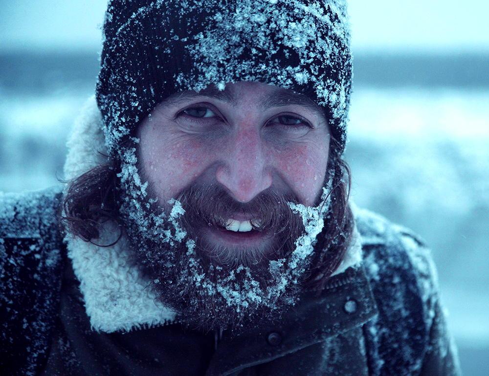 Bartpflege im Winter bei kalten Temperaturen