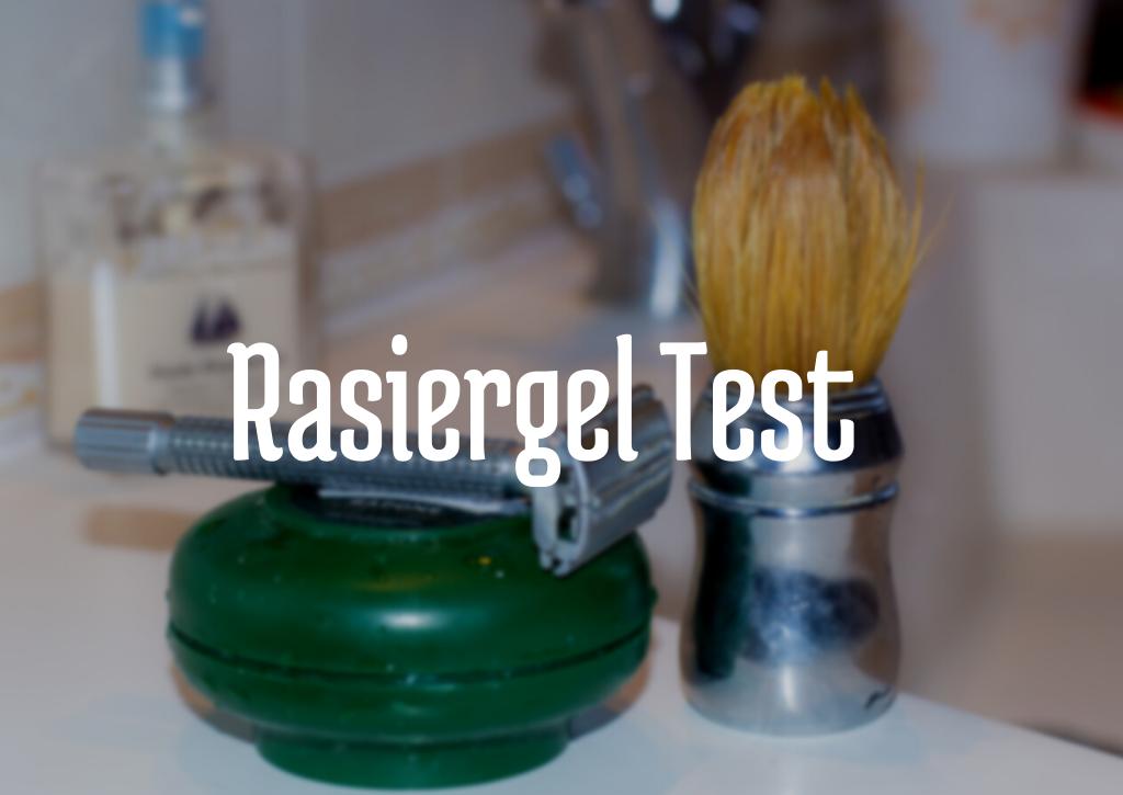 Rasiergel Test